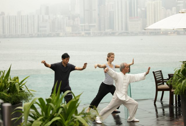 Tai Chi at the Pool Terrace