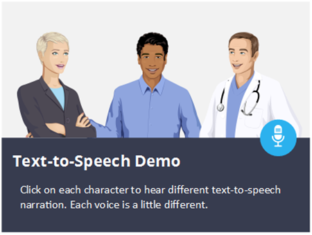 text to speech narration