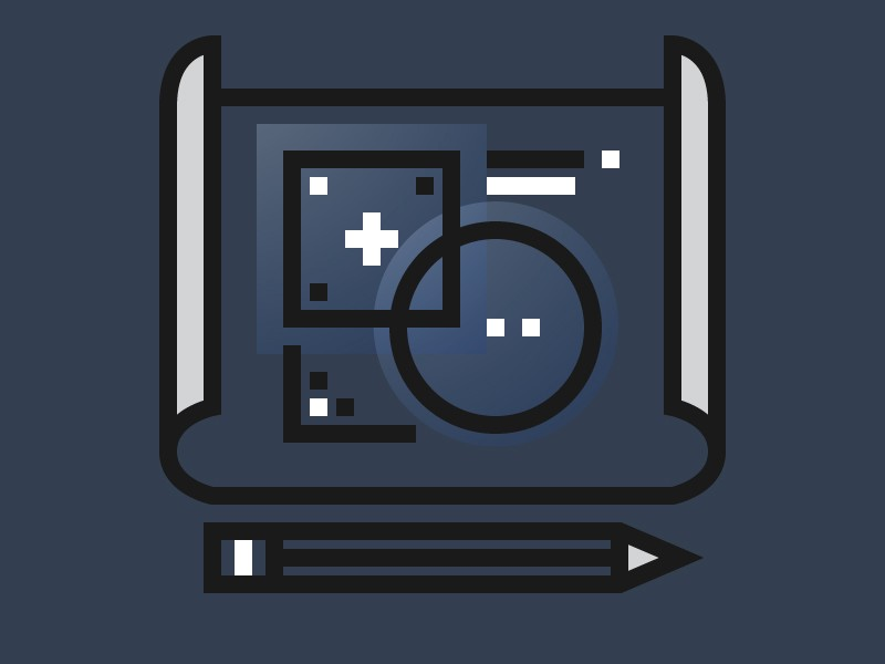 Concept of Planning icon by Unlimiticon
