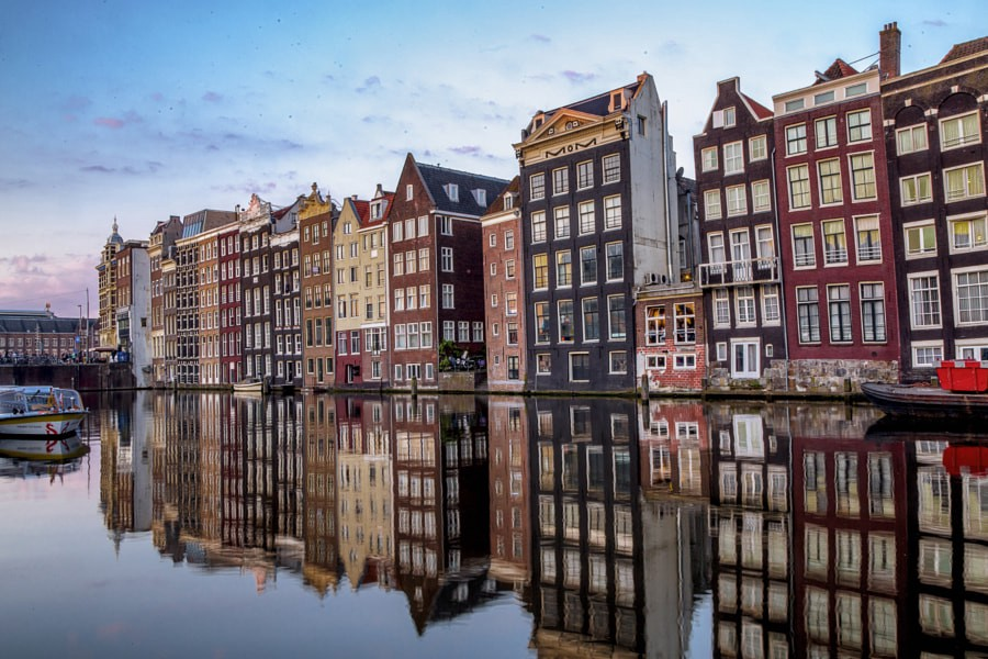 Amsterdam reflections by Lenold Vaz on 500px.com