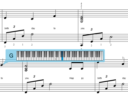 Create a rich interactive music notation engine.