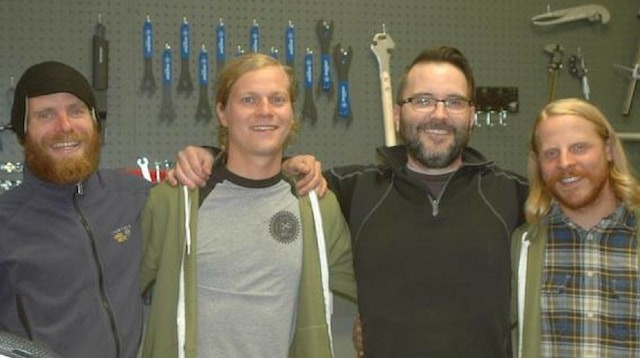 Goldfinch Cyclery Founders
