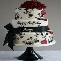 Write Name On Happy Birthday Cake And Send Whatsapp Beautiful With Photo Editor Best Wishes Online