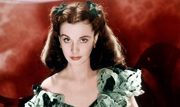 Vivien Leigh as Scarlett O'Hara