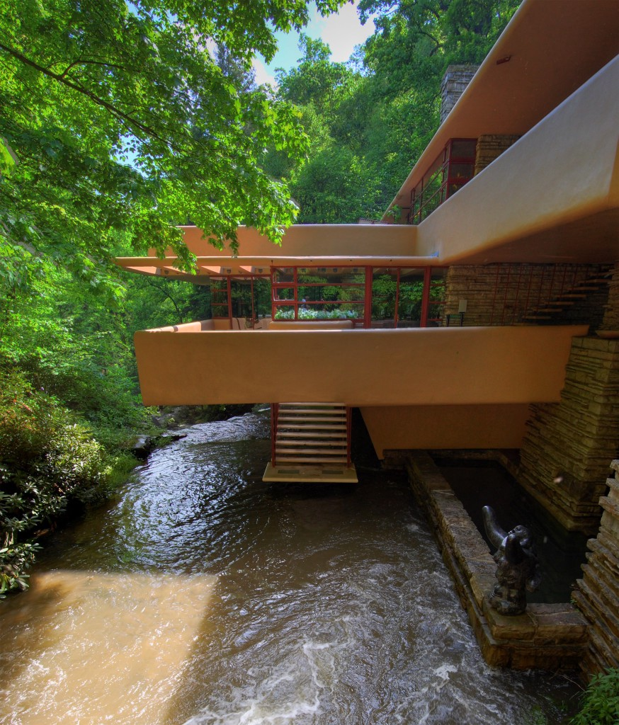 Falling Water House Much Needed Inspiration For Co