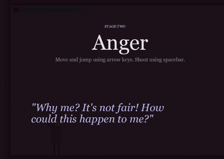 Small Wanted To Use The Game As A Way Foster A Discussion About The Painful Experiences Of Breakup And Hopes That Five Stages Continues To Create