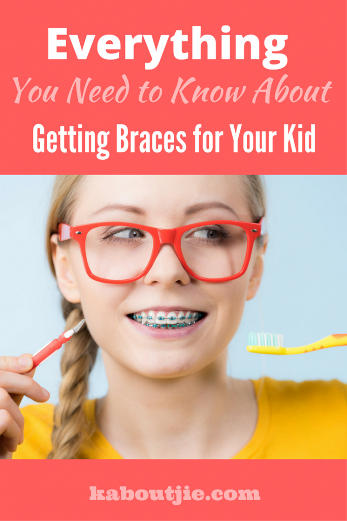 Everything you need to know about getting braces for your kid