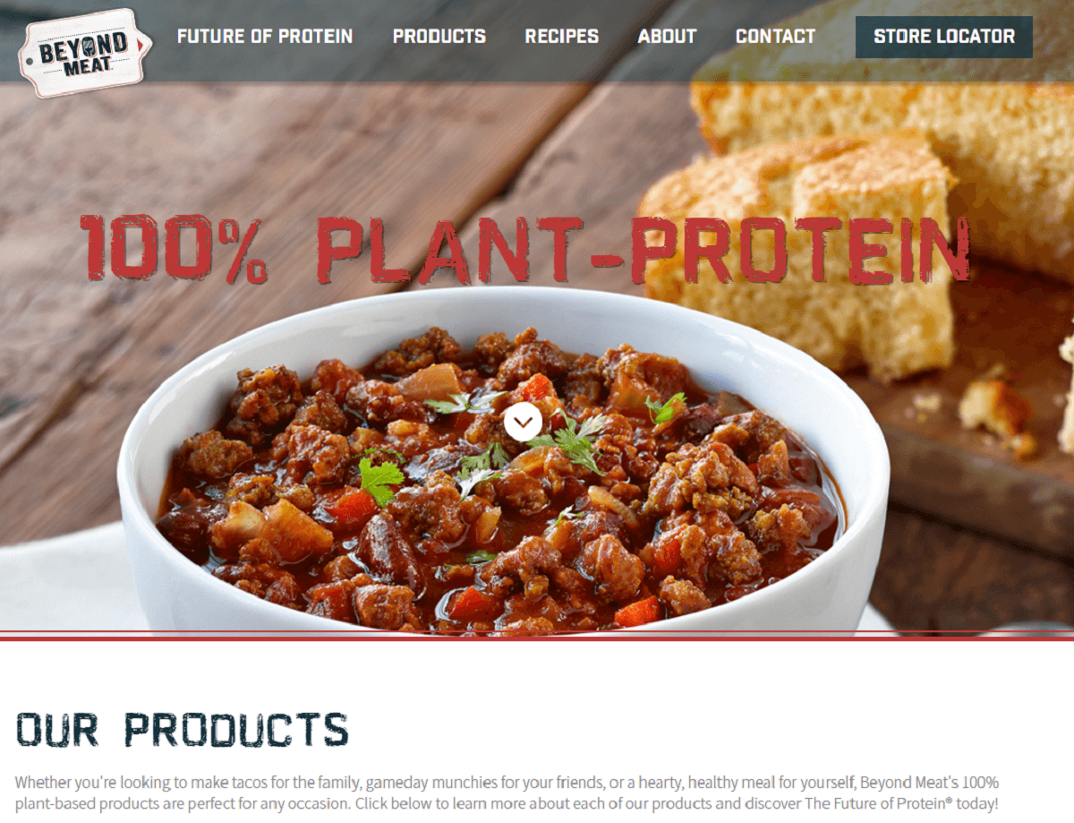 Beyond Meat - Site