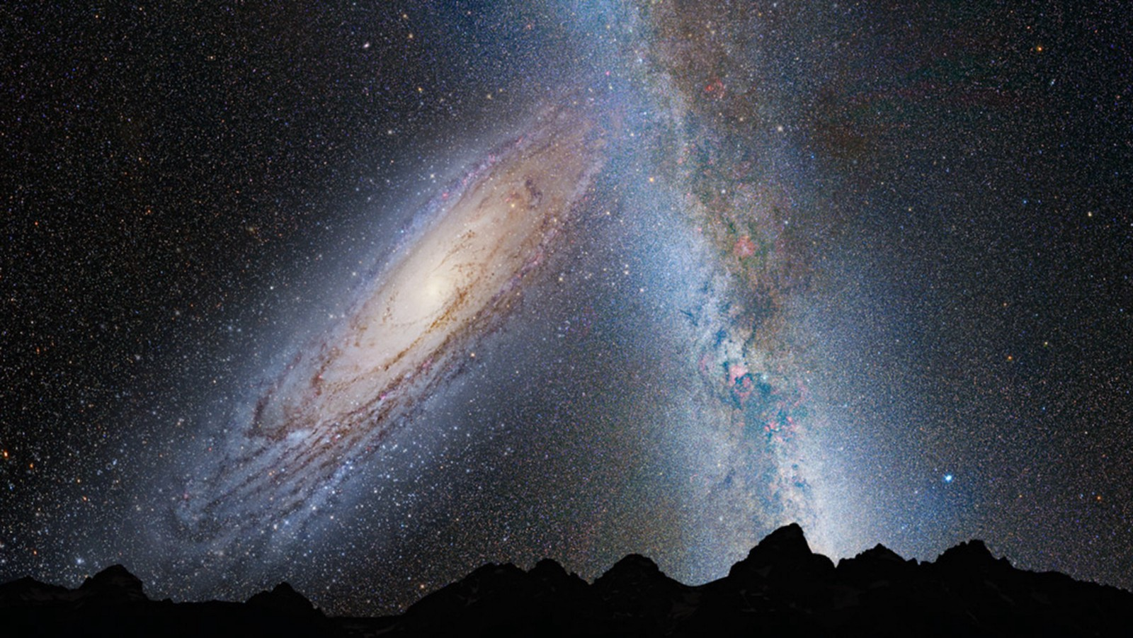 When Andromeda and the Milky Way Collide – FutureSin – Medium