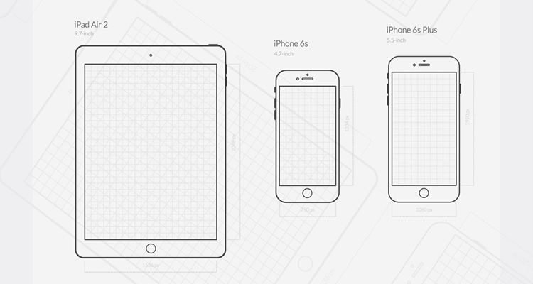 iphone app logo template - 50 free wireframe templates for mobile web and ux design