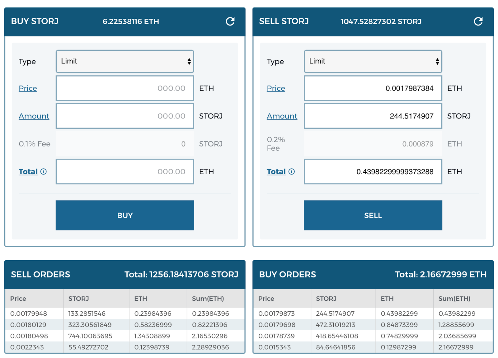 how to do limit orders cryptocurrency