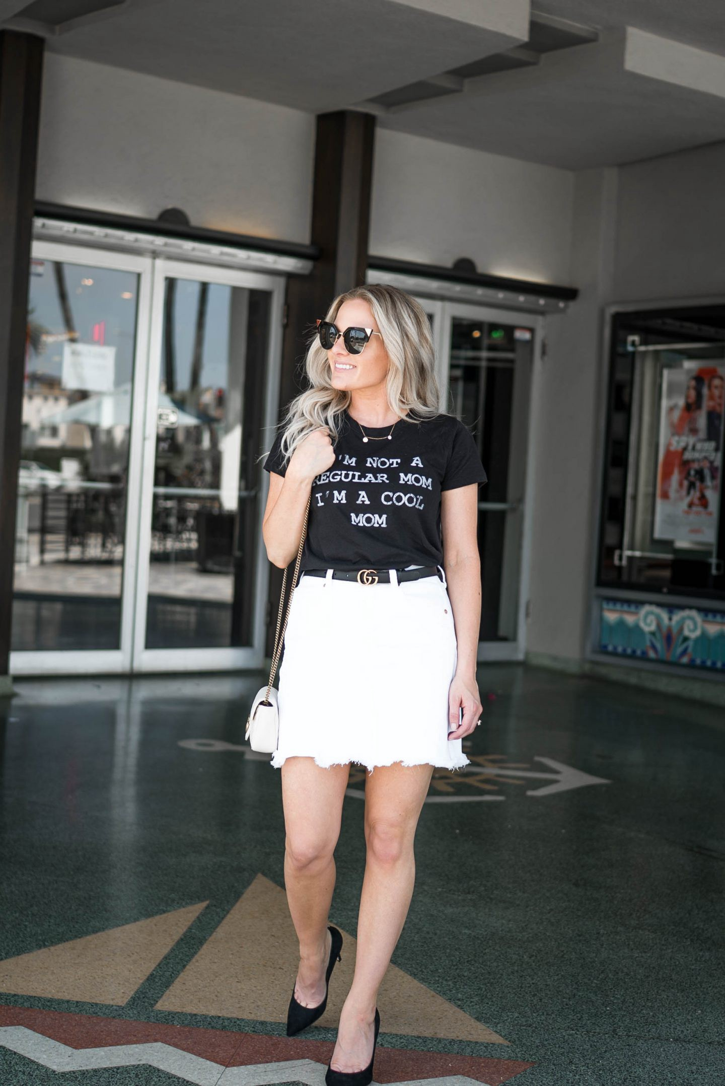 Cool Casual Outfit featured by popular Orange County fashion blogger, Dress Me Blonde