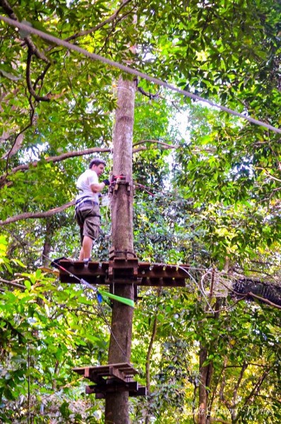 Treetop Adventure in Koh Chang Thailand