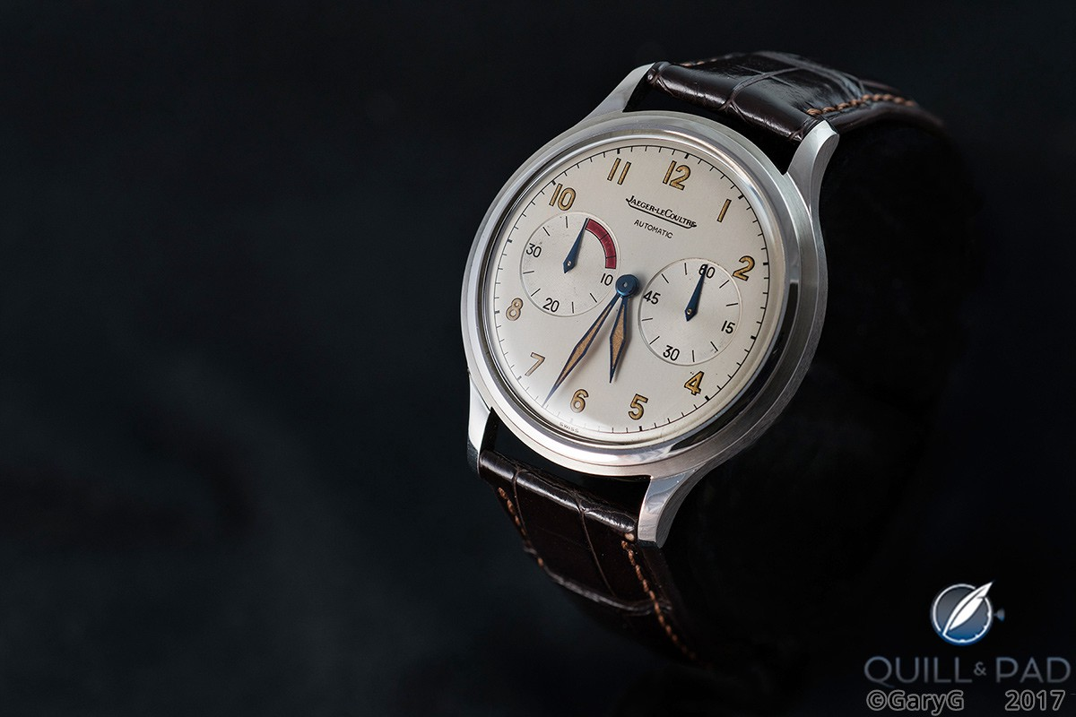Jaeger-LeCoultre Futurematic Jumbo in stainless steel