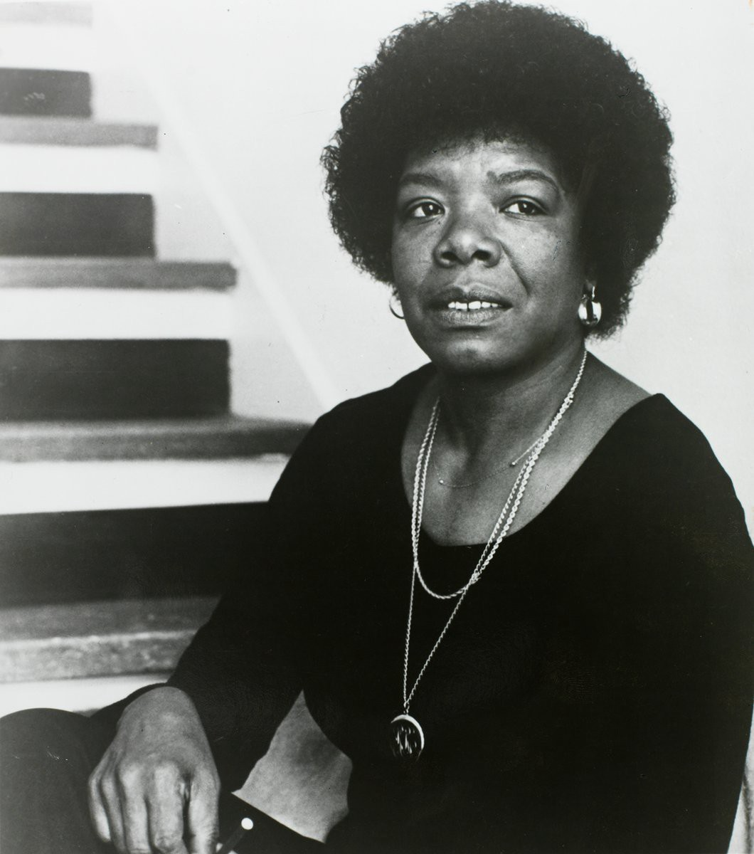 Title: Maya Angelou | Photographer: Susan Mullally Well | Source: Burns Library | License: CC BY NC-ND 2.0
