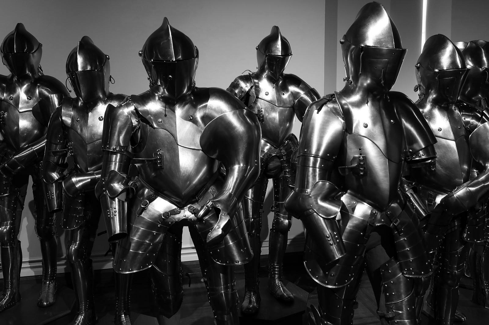 Beliefs are cumbersome, like medieval knight gear