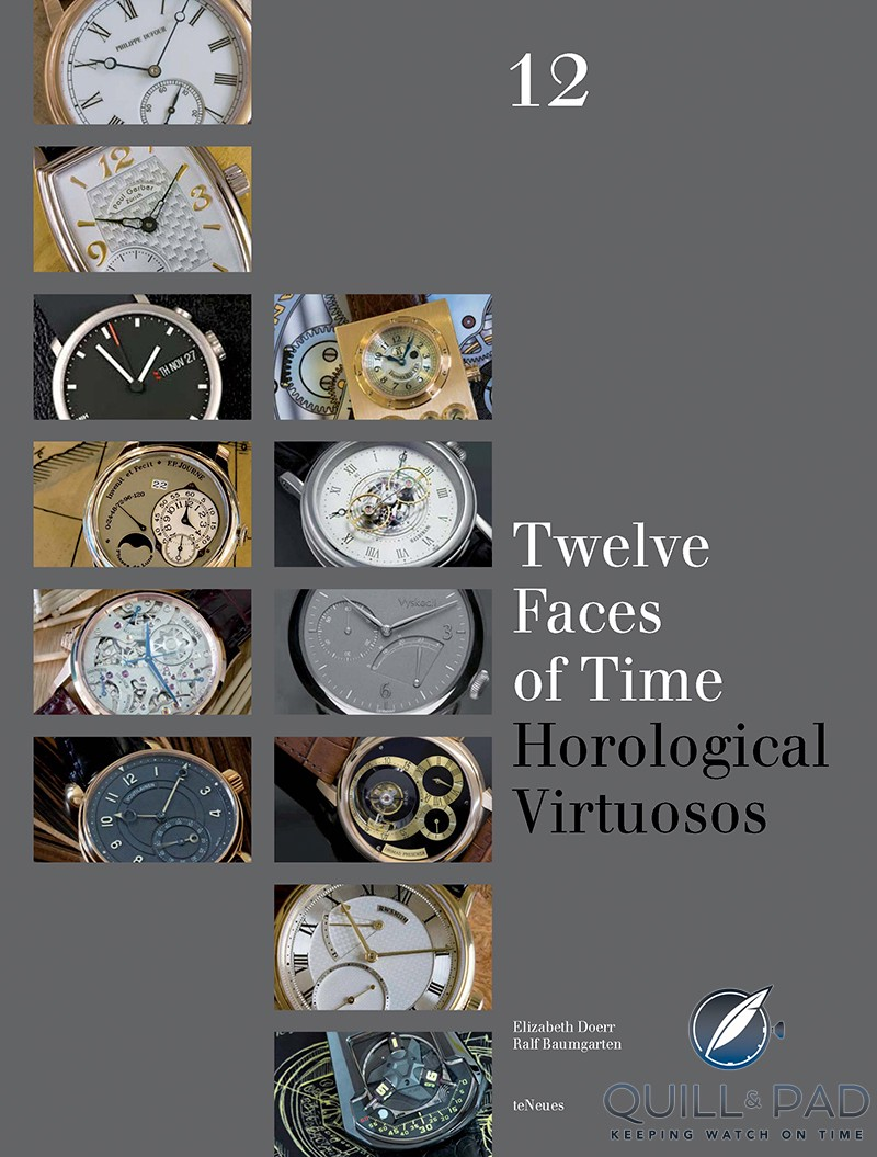 '12 Faces of Time' by Elizabeth Doerr (writer) and Ralf Baumgarten (photographer)