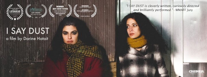 'I Say Dust' film poster. Photo credit: Luc Kordas