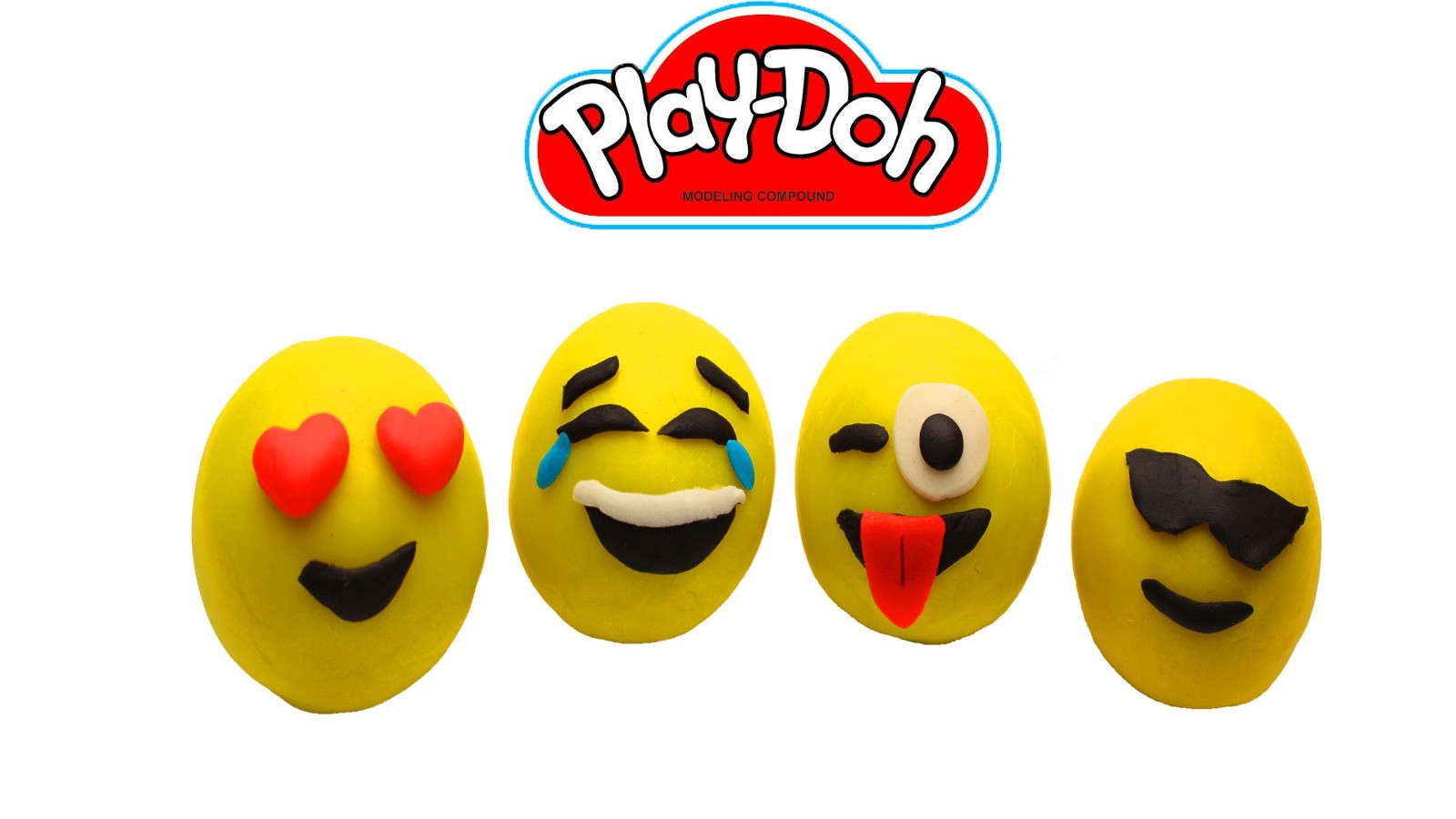 d33ff3b196e Play Doh — How To Make Emoji Smiley Face Fun for Kids — YouTube