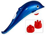 Varichlotus Dolphin Vibration Full Body Massager Pain Relief Muscle Relax (Color May Vary)