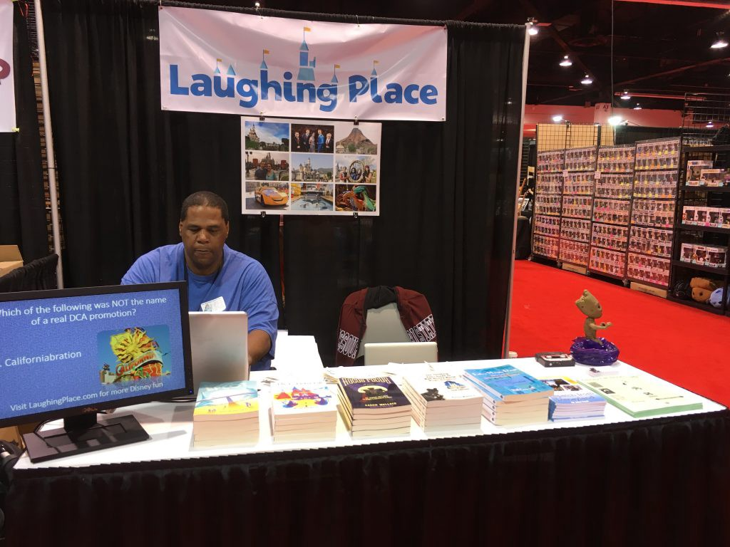 Laughing Place Trade Show Booth