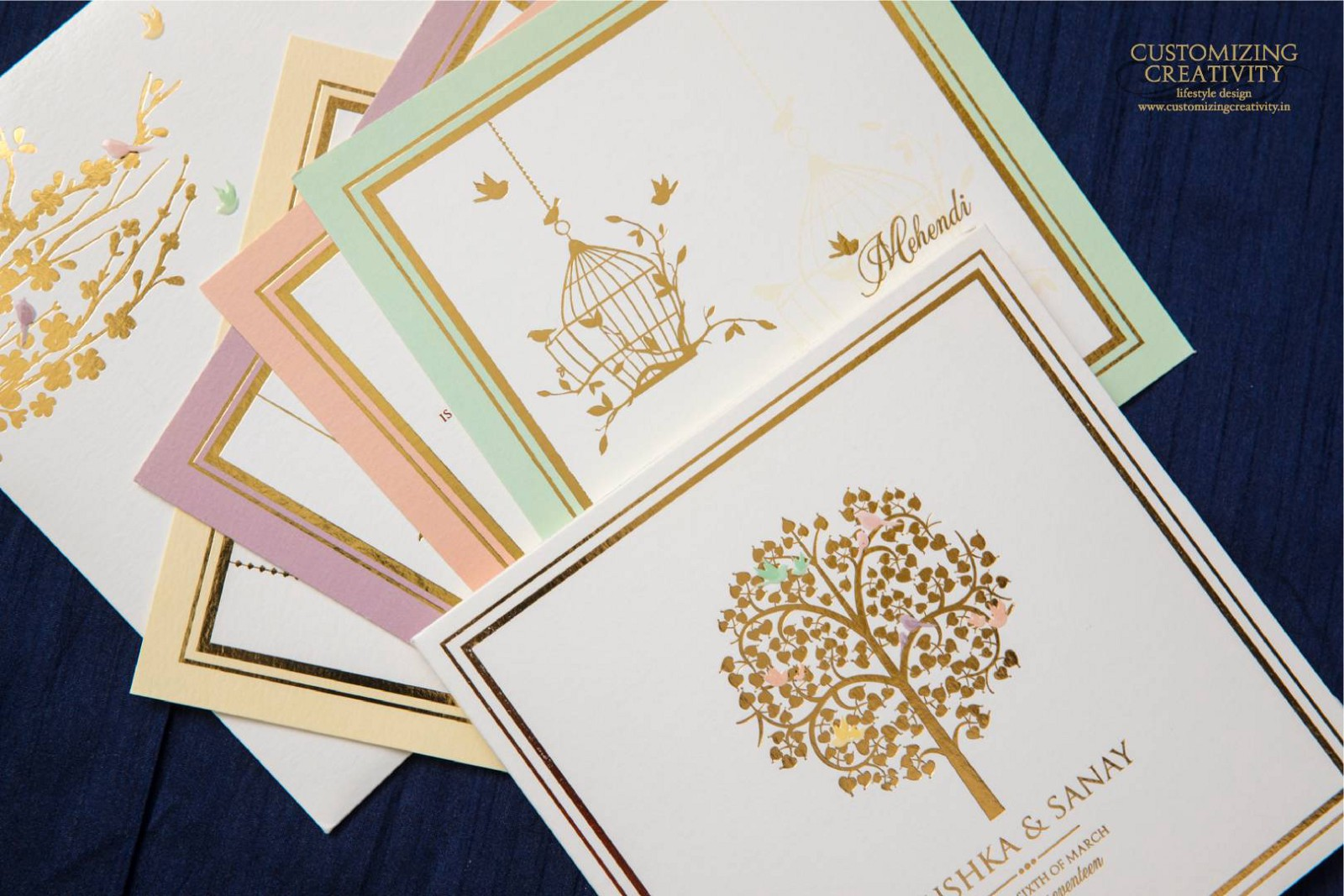 Oh Wow Who S It From Look At My Name Written In Beautiful Calligraphy The Handcrafted Wedding Invite Where Is What Theme