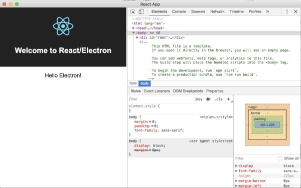 Build An Windows  Application With Electron