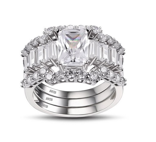 Emerald-Cut-White-Sapphire-925-Sterling-Silver-Womens-Ring-500694