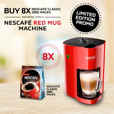 Nescafe Red Mug Coffee Machine At Unboxing In Malaysia Experience