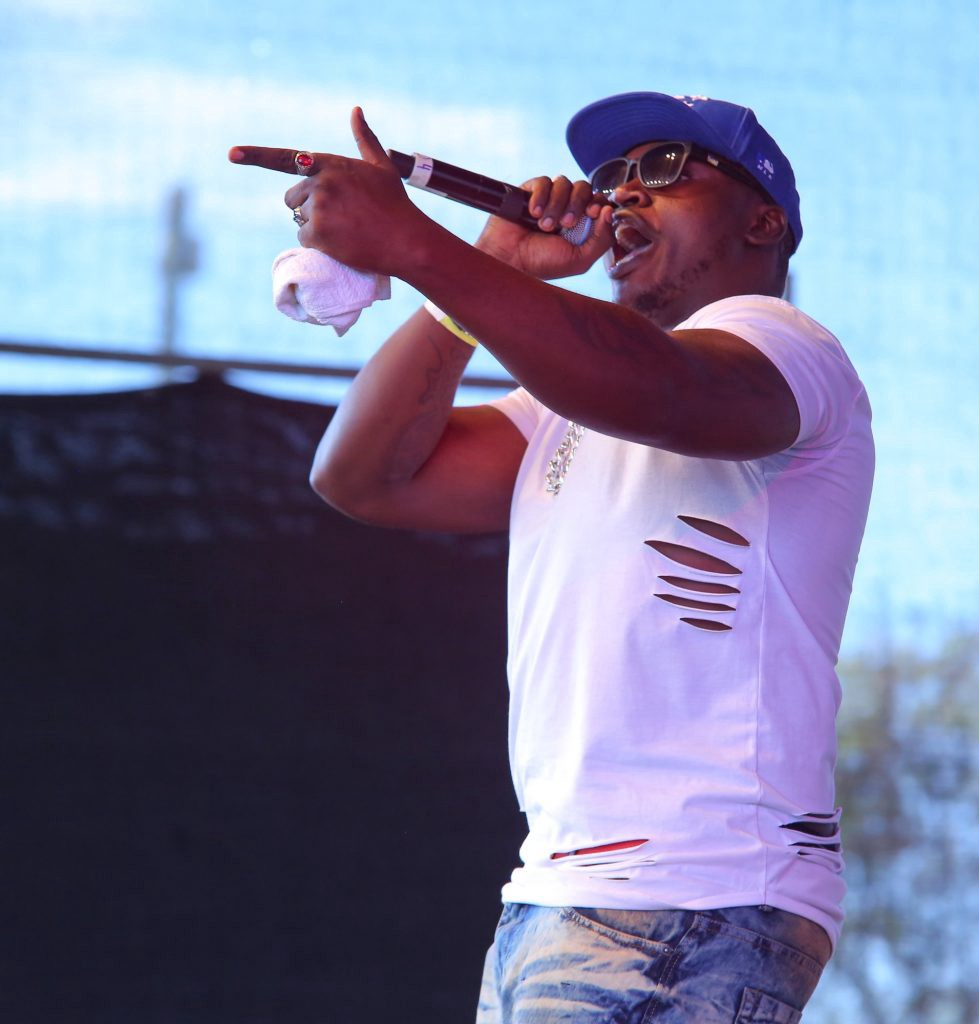 Khaligraph Jones performing during BLAZE Kisumu B.Y.O.B Summit