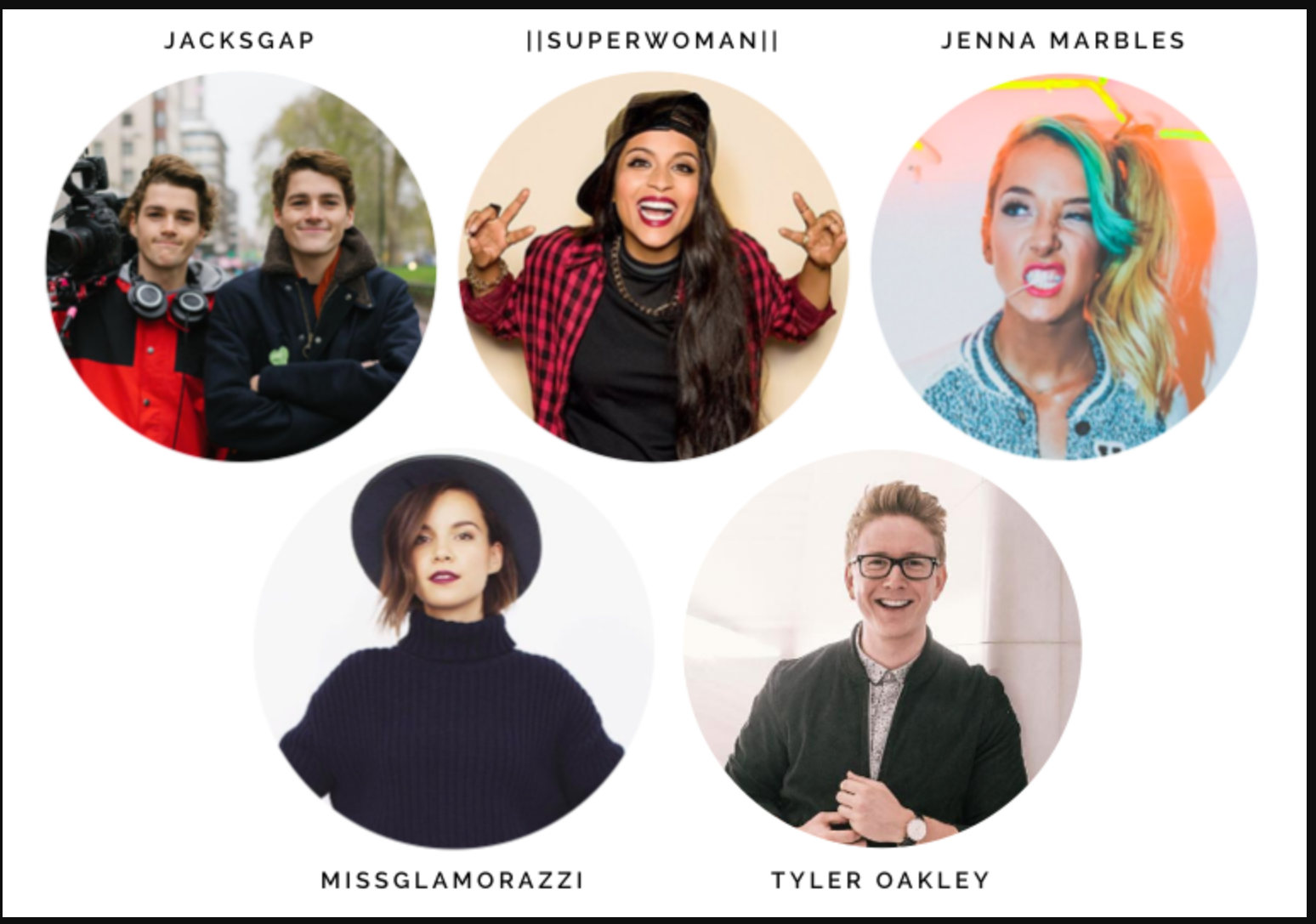 biggest youtube influencers - 767×534