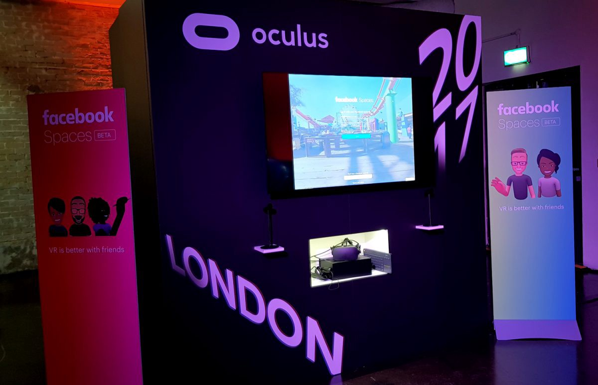 Tech Trends VR Consultancy Oculus Rift Games Marvel Powers Facebook Spaces