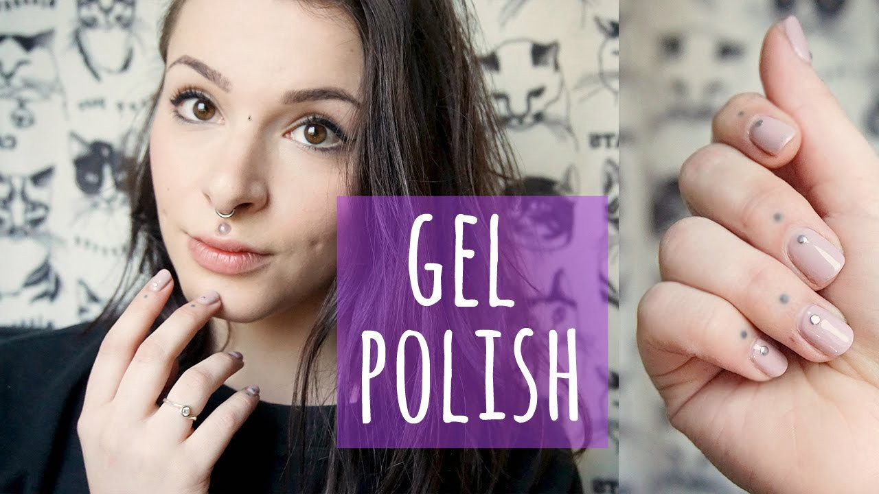 Video: DIY: How to do Gel Nails, at home    With nail decorations!