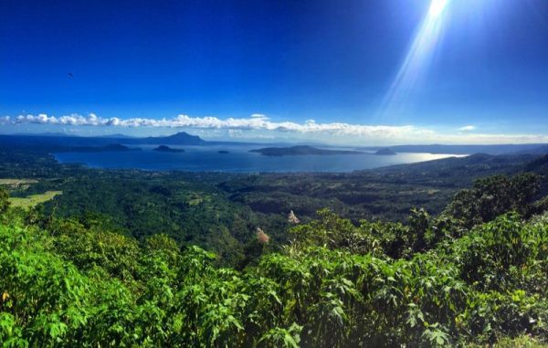 Tagaytay Highlands- overlooking Taal Lake and Volcano Photo by Stelavie