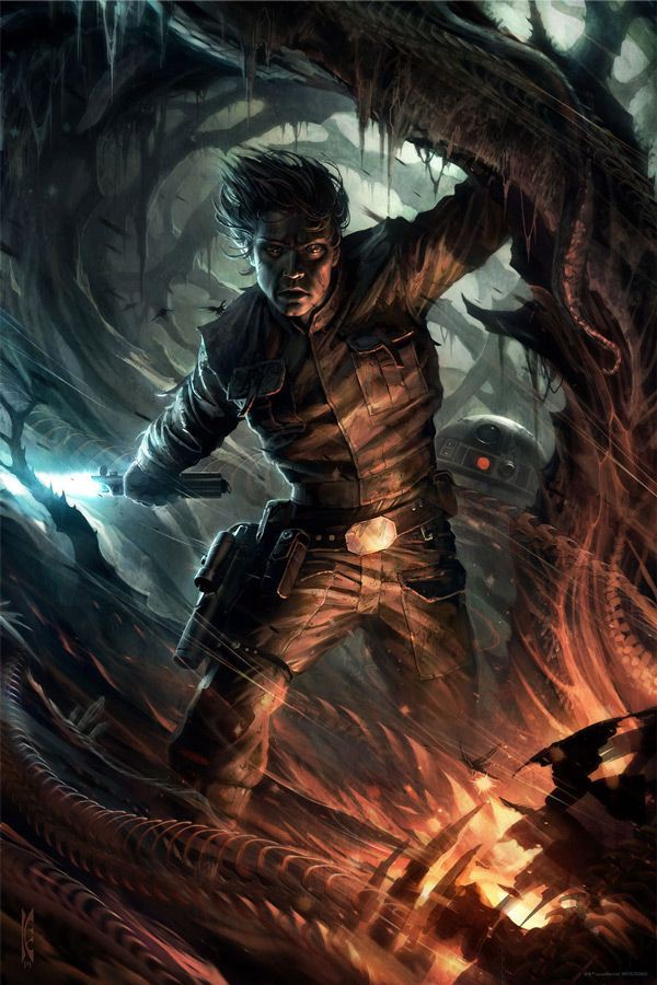 Through The Fire By Raymond Swanland
