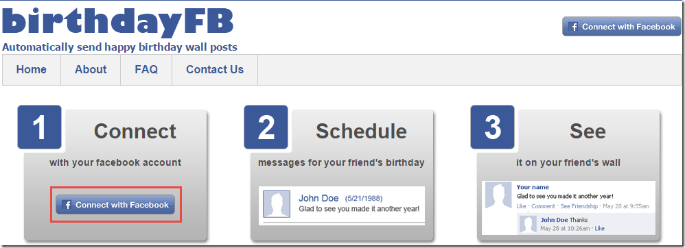 Post Birthday Wishes On Your Friends Facebook Wall 1 First Of All Visit The Website BirthdayFB