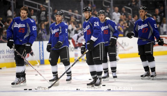 4 18 13-Something Cool-Dodgers Night at LA Kings Game by Juan Ocampo ... 9fc23d7920e