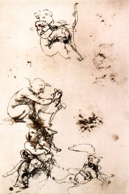 Study of a Child with a Cat