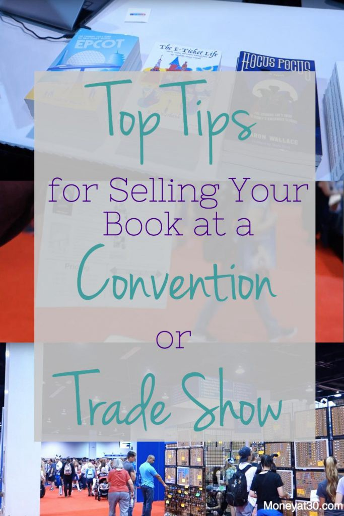 Tips for Selling Your Book at a Convention or Trade Show