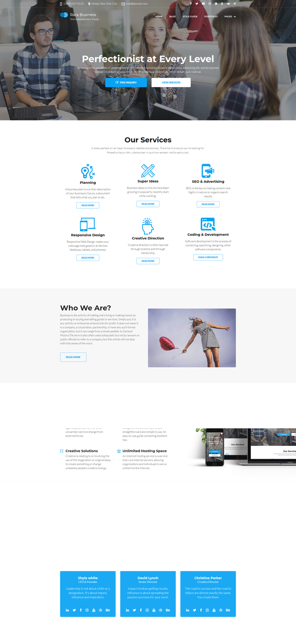 What are the best free responsive WordPress themes in 2018?