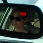 Phebe driving to the SW