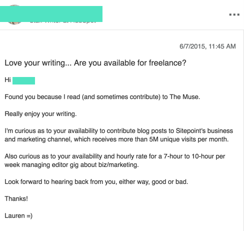 how to and vet the best lancers the startup medium here s an example of a successful cold email i sent to one of the most talented lance writers i ve worked
