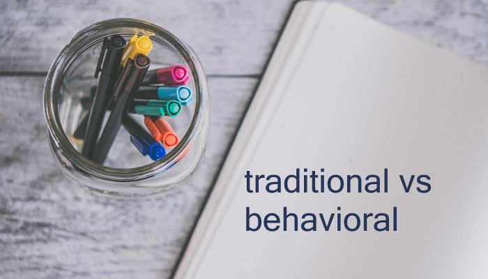 Differences between behavioral and traditional interviews