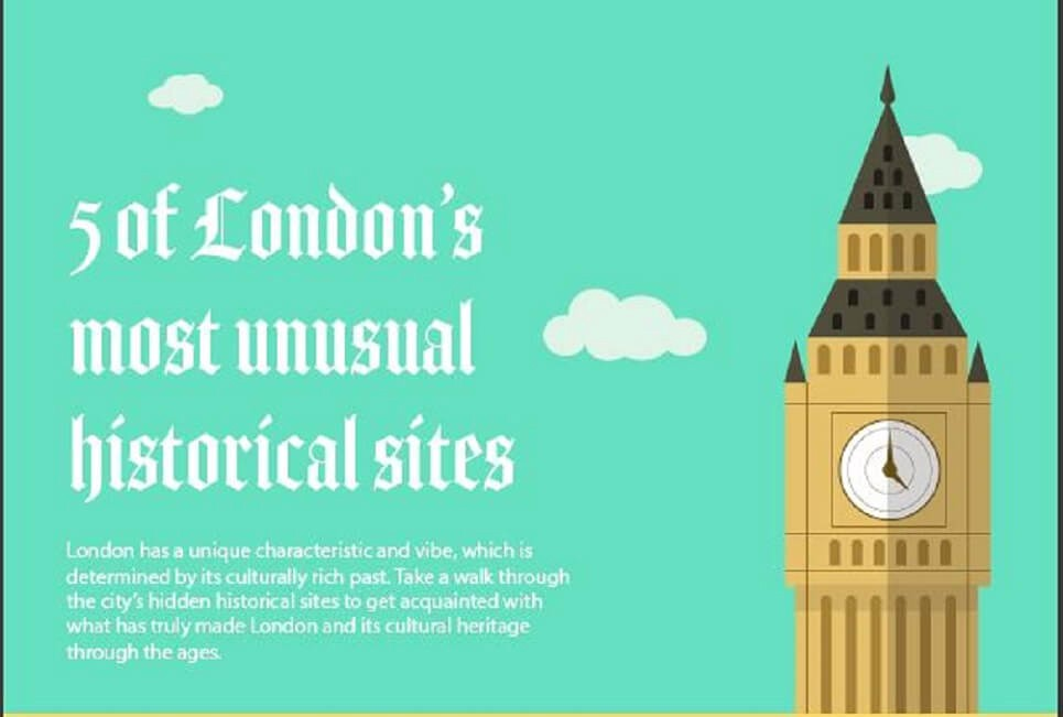 London's Most Unusual Historical Sites you can explore!