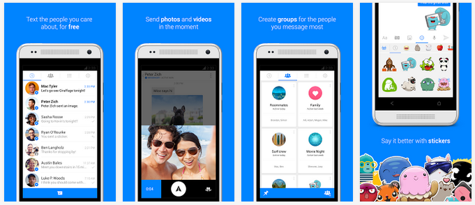Facebook splitting up the Messenger into a dedicated app
