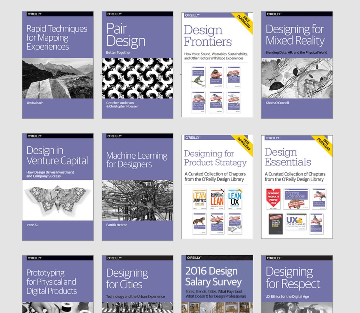 📈💭☁️ #UX #DesignThinking #IoT - Free #Design #Ebooks from O'Reilly »  #resources