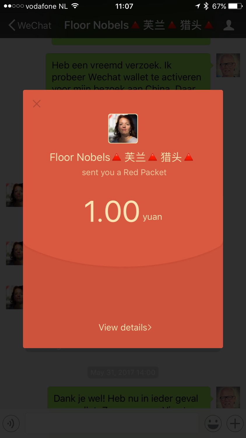 How To Setup A Wechat Wallet Without Chinese Bank Account Wiring Money From Us China Allows You Add Cards And Credit The App It Is Supporting Visa But Not In All Cases Card