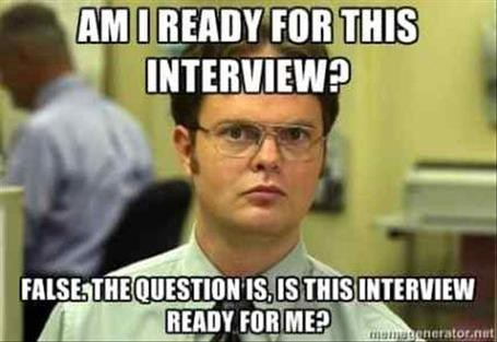 Job Interview Meme