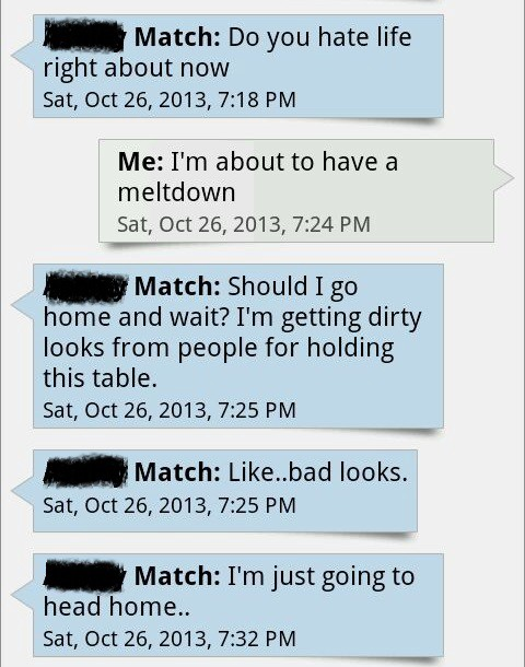 Online dating awful