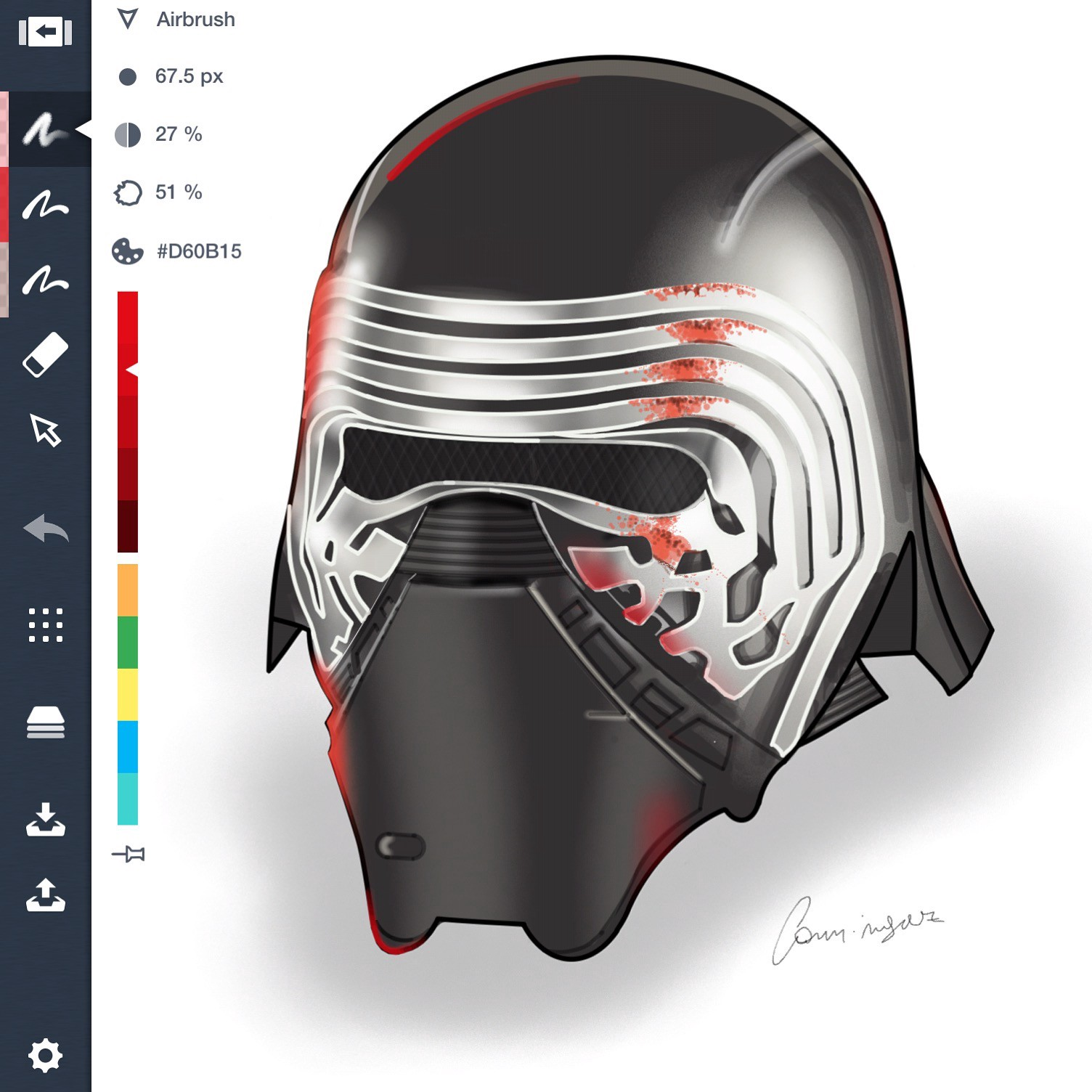 How to create photorealistic graphics concepts app medium the rulers airbrush pencils markers and brushes help me to project a drawing before starting i imagine how to achieve each effect solutioingenieria Choice Image